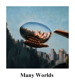 Many Worlds, science fiction and fantasy art