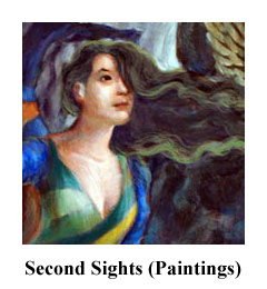 Second Sights, a series of painting sof Greek gods for the modern day